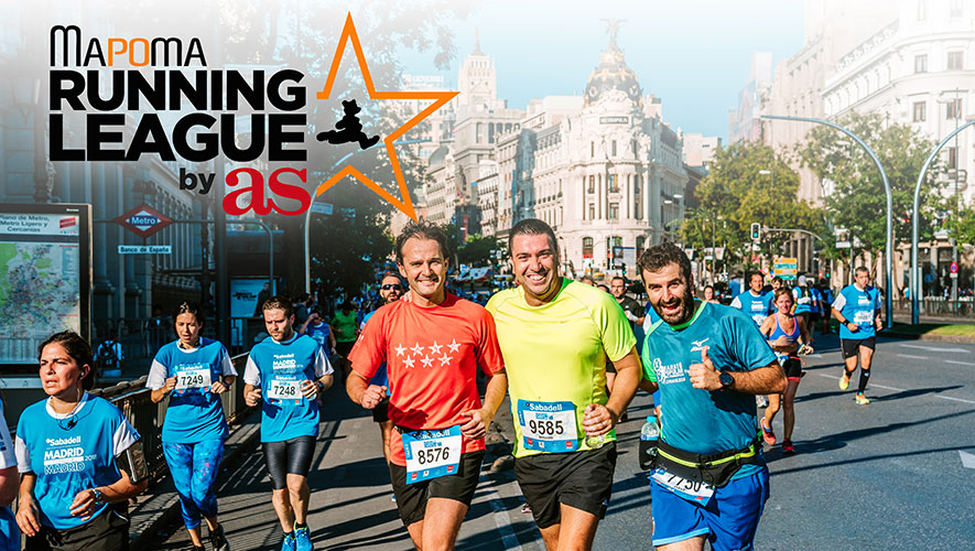 Diario AS se une a la Mapoma Running League