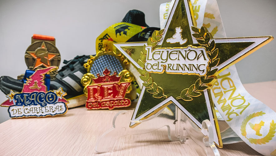Descubre todas las medallas de la Mapoma Running League by AS