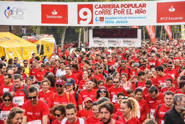 ¡Más de 9.000 personas en Corre por el Niño!