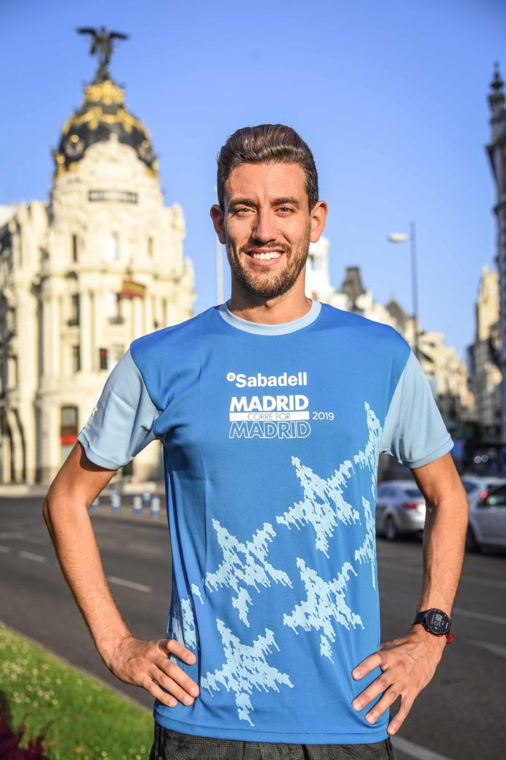 Camiseta oficial de Madrid corre por Madrid