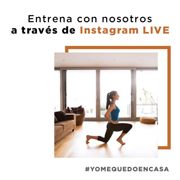 Entrenamientos en Instagram LIVE